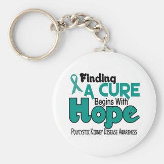 PKD Polycystic Kidney Disease HOPE 5 Keychain