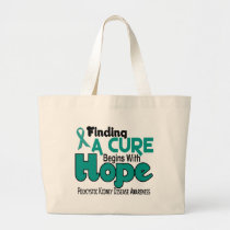 PKD Polycystic Kidney Disease HOPE 5 Large Tote Bag