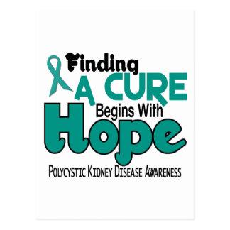 PKD Polycystic Kidney Disease HOPE 5 Postcard