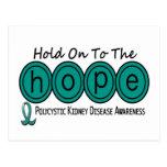 PKD Polycystic Kidney Disease HOPE 6 Post Cards