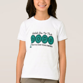 PKD Polycystic Kidney Disease HOPE 6 T-Shirt