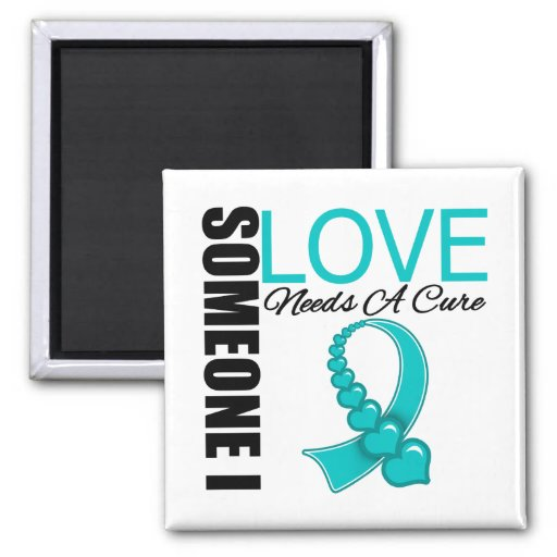 PKD Someone I Love Needs A Cure 2 Inch Square Magnet