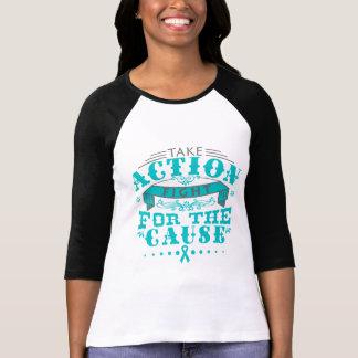 PKD toman la lucha de la acción para la causa Camiseta