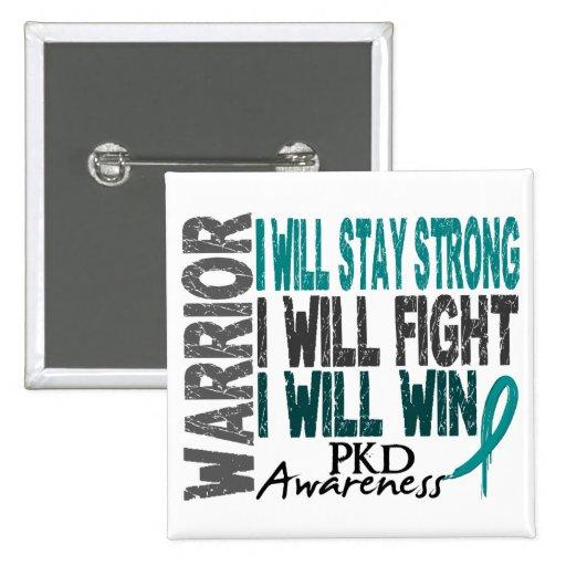 PKD Warrior Buttons