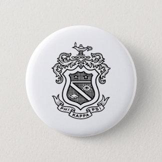 PKP Crest Black Button