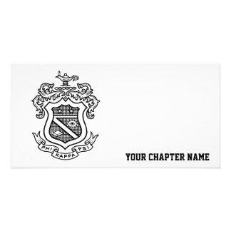 PKP Crest Black Photo Card