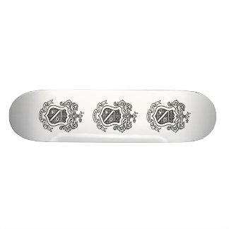 PKP Crest Black Skateboard Deck