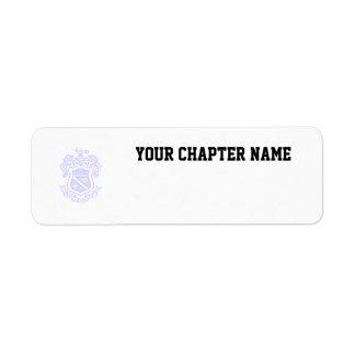 PKP Crest Watermark Return Address Label
