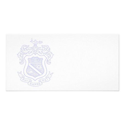 PKP Crest Watermark Photo Card