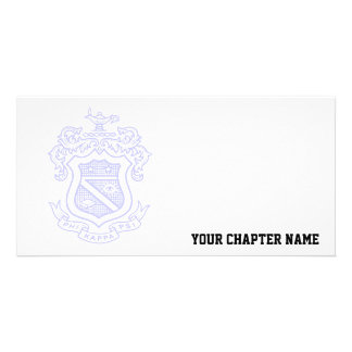 PKP Crest Watermark Customized Photo Card