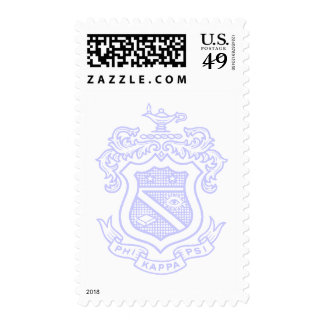 PKP Crest Watermark Postage Stamp