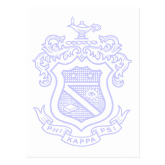 PKP Crest Watermark Postcard