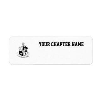 PKS Crest Label