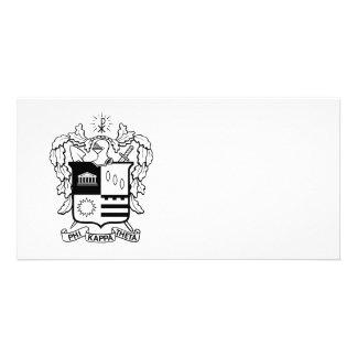 PKT Crest Black Picture Card