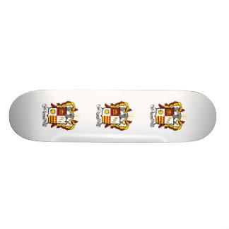 PKT Crest Color Skate Deck
