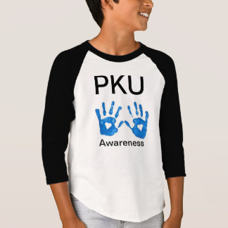 PKU Awareness Kid's 3/4 Sleeve Shirt