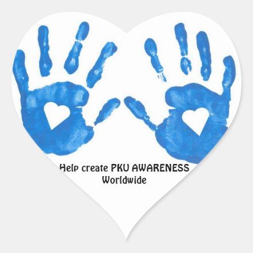 PKU Heart Sticker