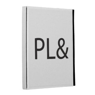 PL&.ai iPad Folio Covers