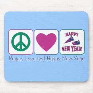 PL Happy New Year Mouse Pad