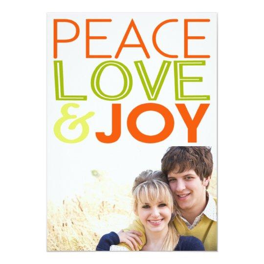PL & J Holiday Photo Card