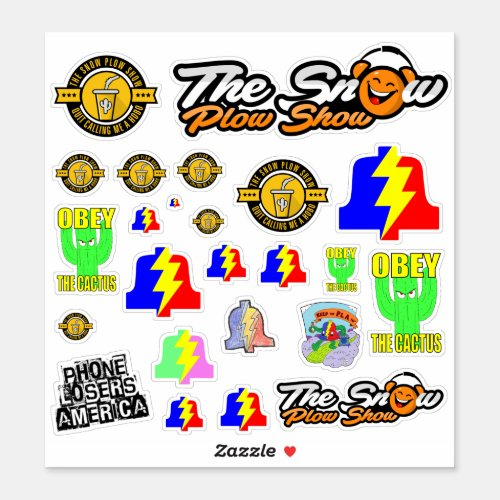 PLA Sheet of Stickers