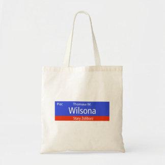 Plac Thomasa W. Wilsona, Varsovia, Sig polaco de Bolsa Lienzo