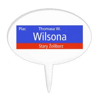 Plac Thomasa W. Wilsona, Varsovia, Sig polaco de l Decoración De Tarta