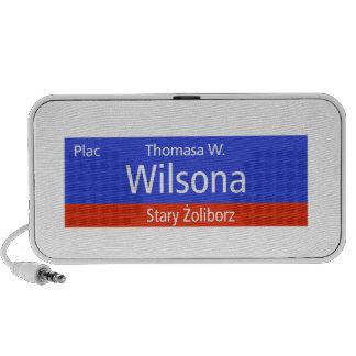 Plac Thomasa W. Wilsona, Varsovia, Sig polaco de l Altavoces