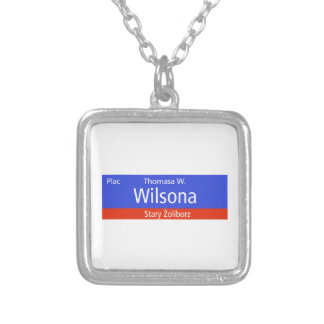 Plac Thomasa W. Wilsona, Varsovia, Sig polaco de l Grimpolas Personalizadas