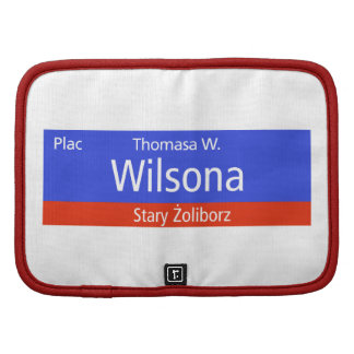 Plac Thomasa W. Wilsona, Varsovia, Sig polaco de l Planificador