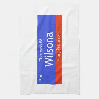 Plac Thomasa W. Wilsona, Varsovia, Sig polaco de l Toalla De Cocina