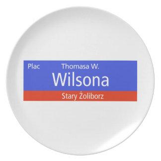 Plac Thomasa W. Wilsona, Varsovia, Sig polaco de l Plato