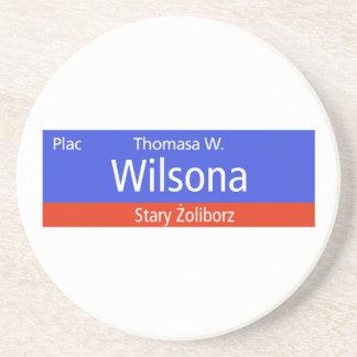 Plac Thomasa W. Wilsona, Varsovia, Sig polaco de l Posavasos Para Bebidas