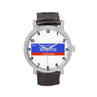 Plac Thomasa W. Wilsona, Varsovia, Sig polaco de l Relojes De Mano