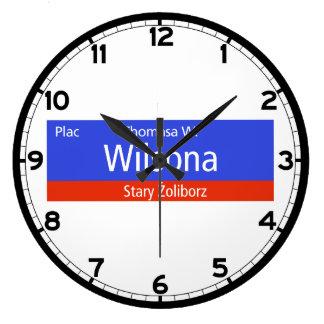 Plac Thomasa W. Wilsona, Varsovia, Sig polaco de l Relojes