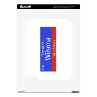 Plac Thomasa W. Wilsona, Varsovia, Sig polaco de l iPad 3 Pegatina Skin