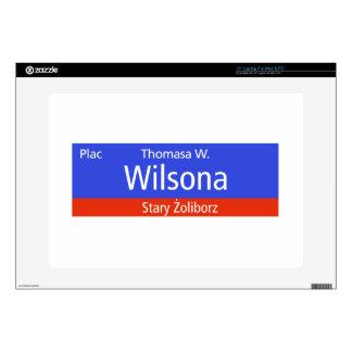 Plac Thomasa W. Wilsona, Varsovia, Sig polaco de l Portátil 38,1cm Skins