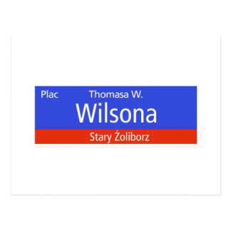 Plac Thomasa W. Wilsona, Varsovia, Sig polaco de l Postal