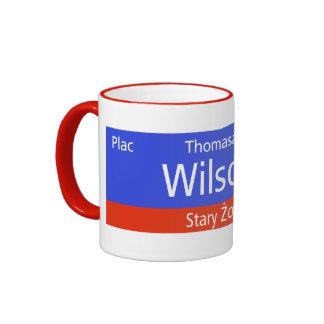 Plac Thomasa W. Wilsona, Varsovia, Sig polaco de l Tazas De Café