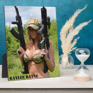 Placa 04 de la exhibición de Kaylee Rayne- 8x10