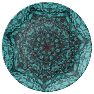 placa #1065 platos de cerámica
