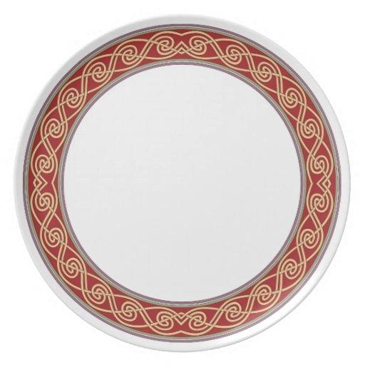 Placa 106 del estilo del Viejo Mundo Platos