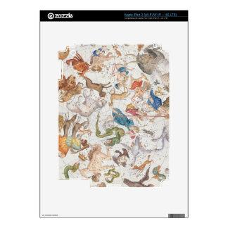 """Placa 26 del """"atlas Coelestis"""", por Juan Flamsteed iPad 3 Skins"""
