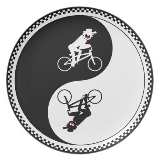 Placa 2 de BMX Plato Para Fiesta