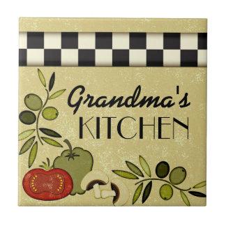 Placa a cuadros adaptable de la pared de la cocina azulejo cuadrado pequeño