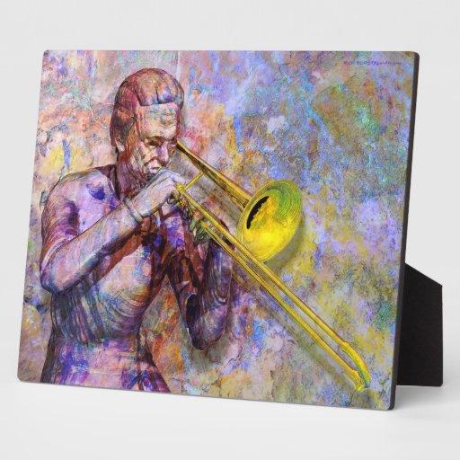 Placa a solas del Trombone