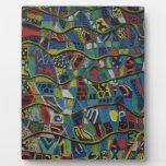 Placa acolchada de la abstracción