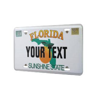 Placa (adaptable) de la Florida Placa De Matrícula