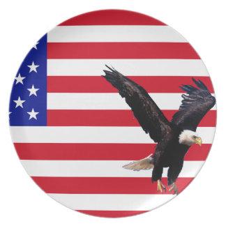 Placa American2 Platos