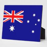 Placa australiana de la bandera